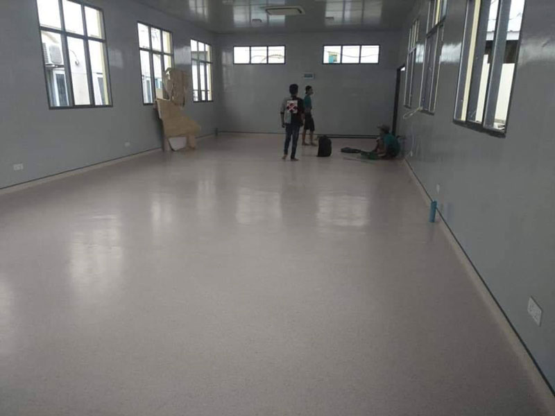 Health Care Flooring At Insein Public Hospital